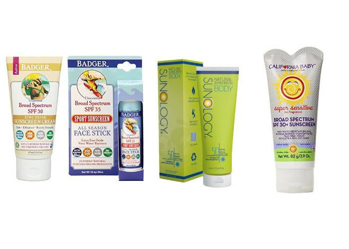 Safe Sunscreen Lotions