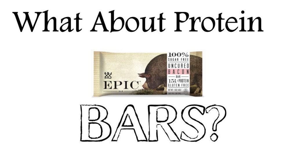 what about protein bars?