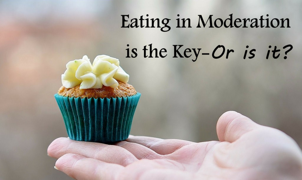 Eating in moderation